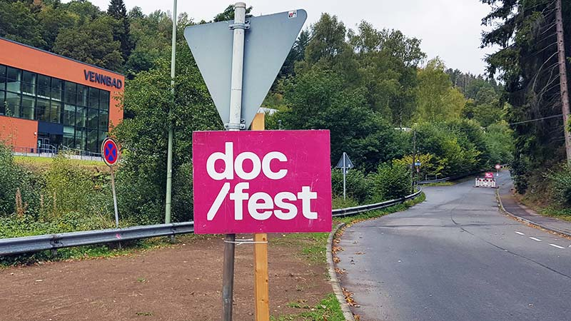Straße zum Docfest